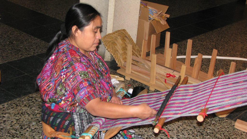 Maya weaver