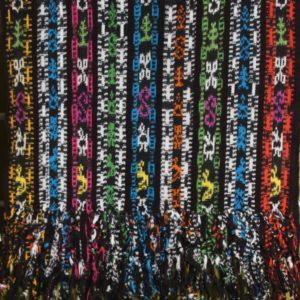 Mayan hand woven ikat runner